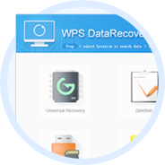 WPS Data Recovery Master Screenshot