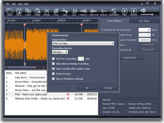 mp3 cutter  free for windows 7 64 bit