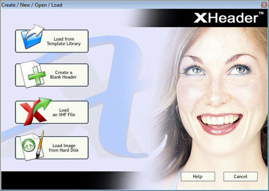 XHeaderPro Screenshot