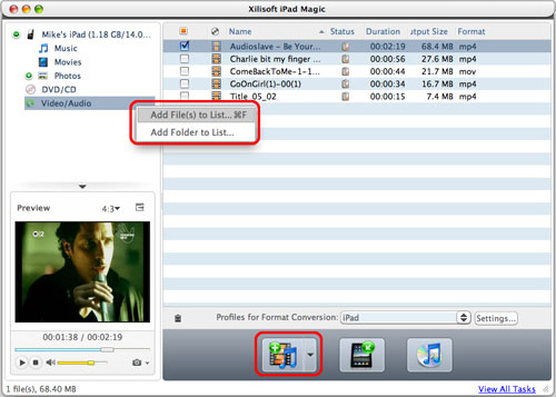 Audio Software, iPod iPhone iTunes Software Screenshot