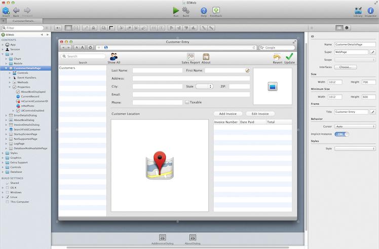 Xojo Desktop Screenshot