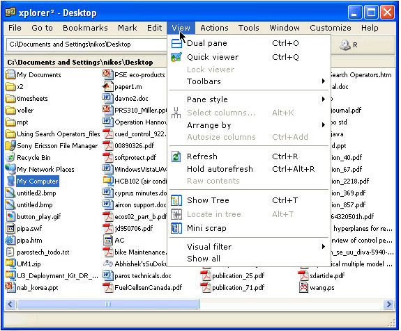 xplorer² version 3.4!, Search and Replace Software Screenshot