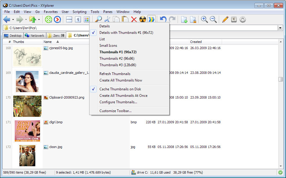 XYplorer Lifetime License Pro Screenshot 11