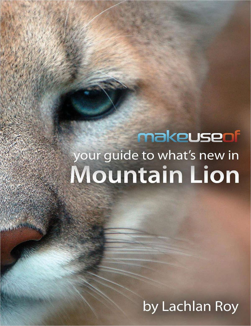 Your Guide to What's New in Mountain Lion Screenshot