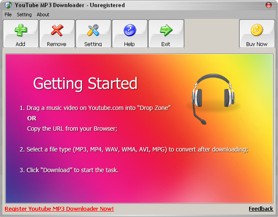 mp3 download from youtube program