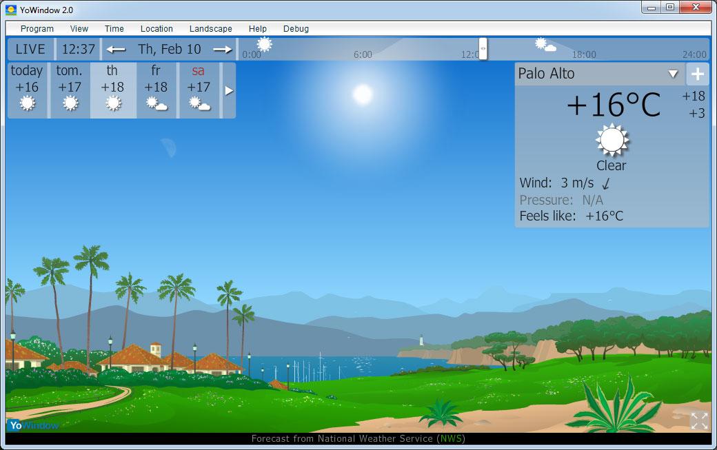yowindow Screenshot