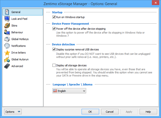 Software Utilities, Zentimo Screenshot