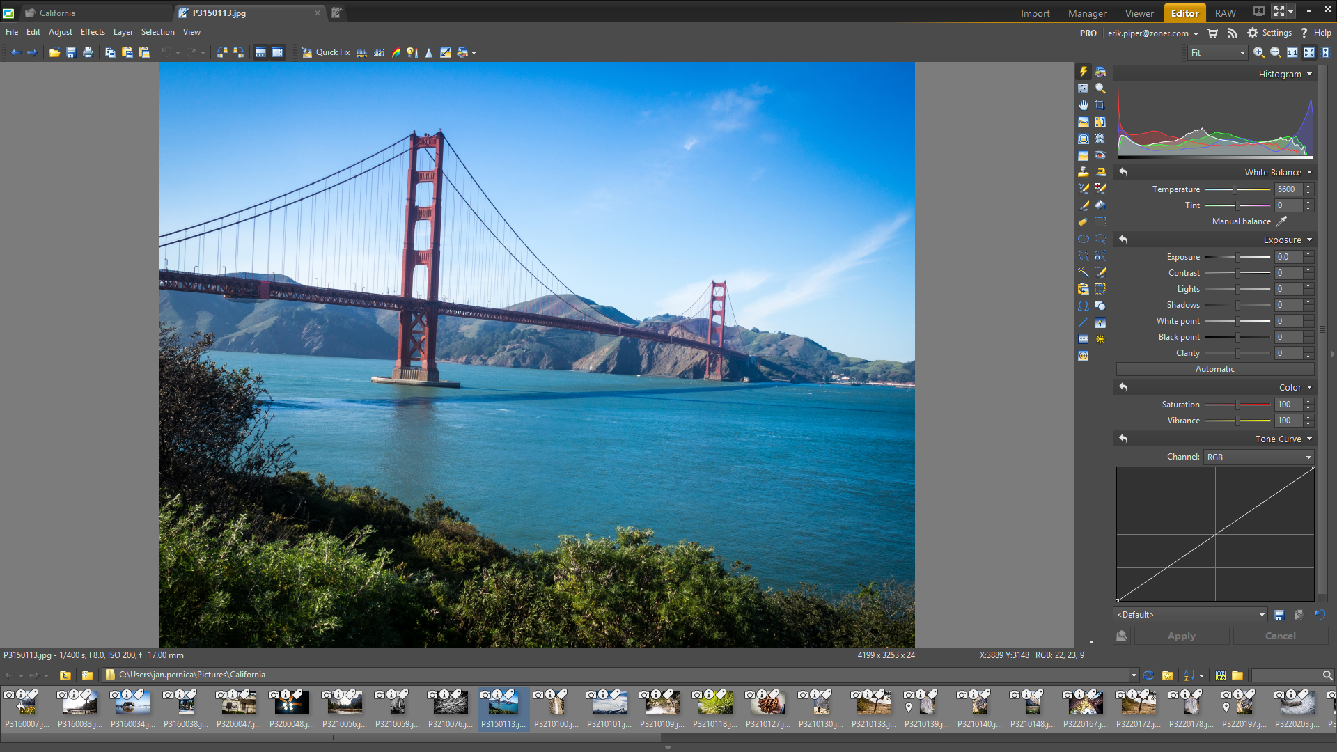 Zoner Photo Studio 17 PRO Screenshot