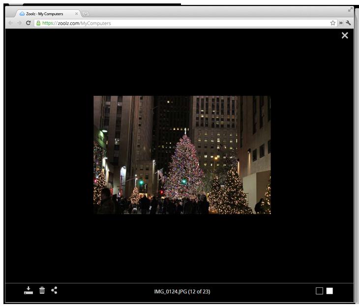 Zoolz home 1 TB, Backup Cloud Software Screenshot