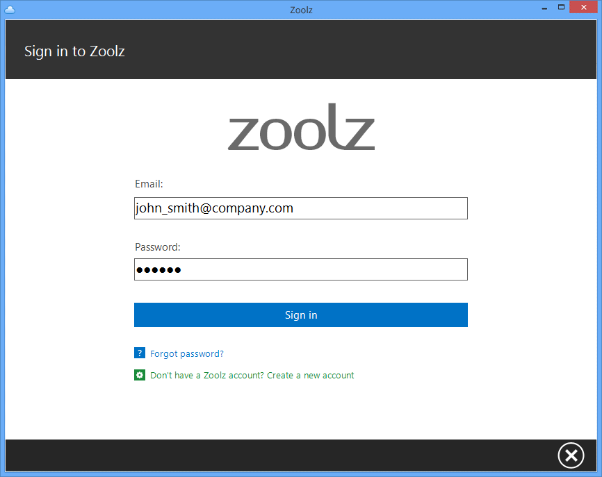 Zoolz Home 2TB Lifetime Screenshot