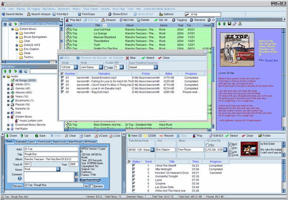 MP3 Recording Software Screenshot