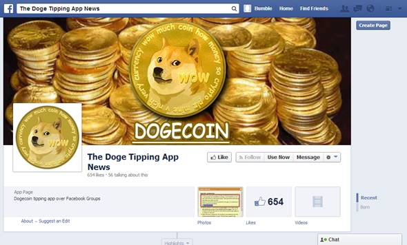 Doge Tipping App